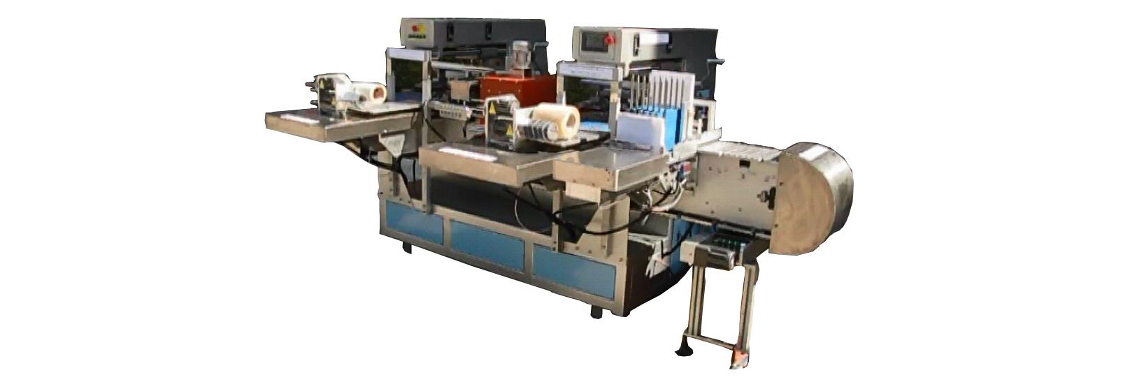 fully autoamtic wood ruler double side pad pad printing machine