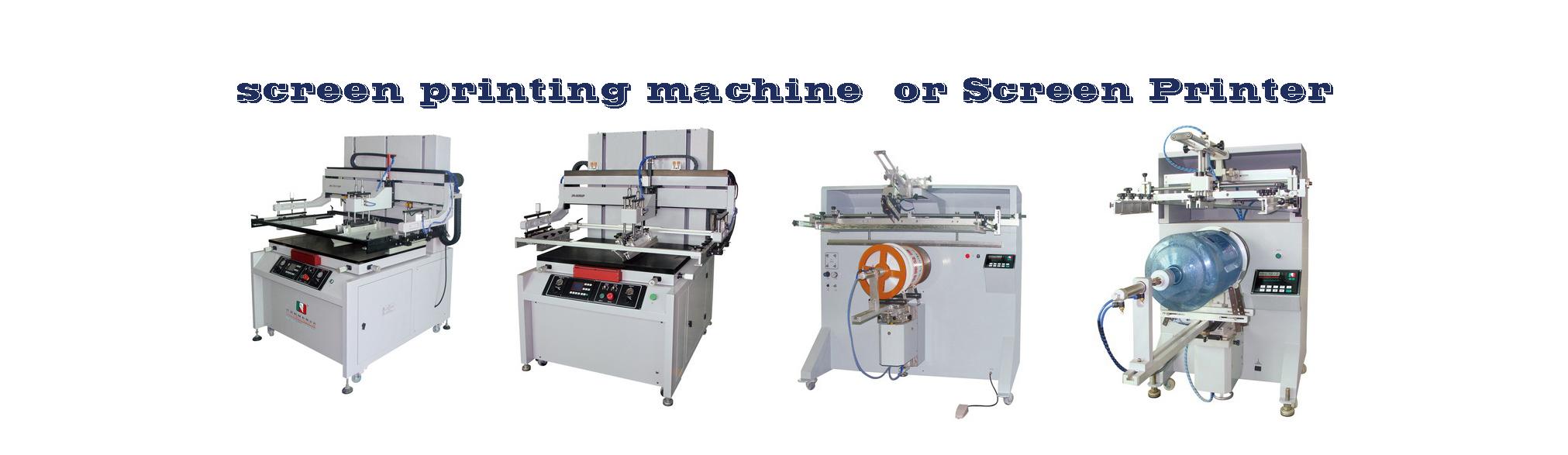 pneumatic screen printing machine