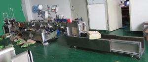 automatic PET egg carton self-adhesive labeling machine