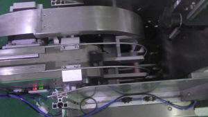 cheap automatic pulp egg box label applicator machine