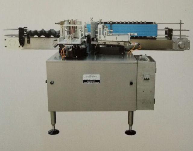 cold glue label applicator machine semi-automatic