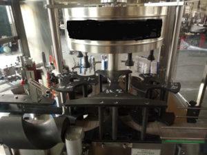 double label applicator machine oil