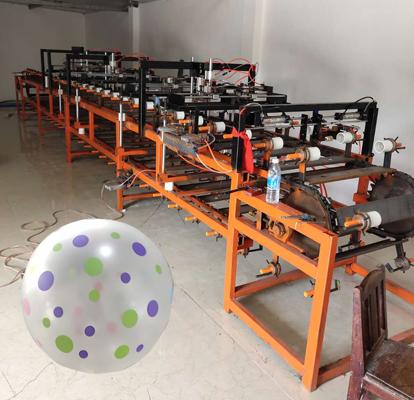 automatic balloon screen printing machine