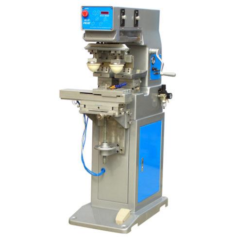 semiautomatic pneumatic pad printer printing system